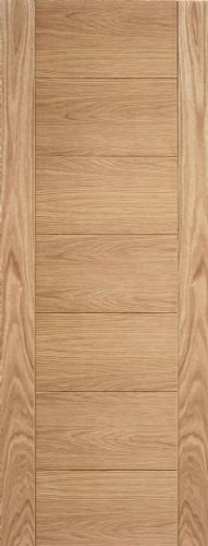Internal Oak Carini Fire Door Unfinshed